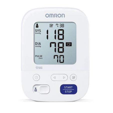 Tensiometru electronic de brat Omron M3 Comfort, HEM-7155-E, manseta Intelli Wrap 22 - 42 cm [2]