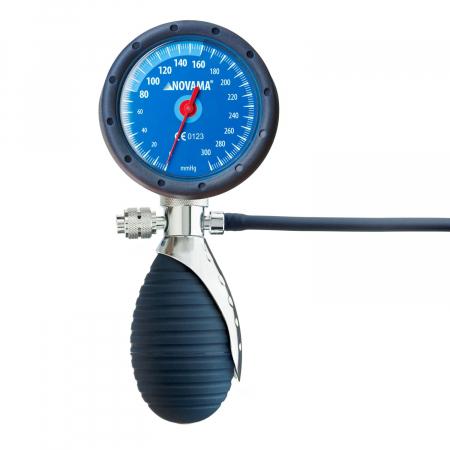 Tensiometru mecanic de brat Novama Dura, manometru mare, rezistent la socuri, geanta de depozitare
