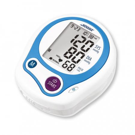 Tensiometru electronic de incheietura Novama Wrist Home, detectare aritmie, medie 3 masuratori, cutie de transport5