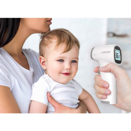 Termometru non-contact Contec TP500, tehnologie infrarosu, pentru frunte [4]