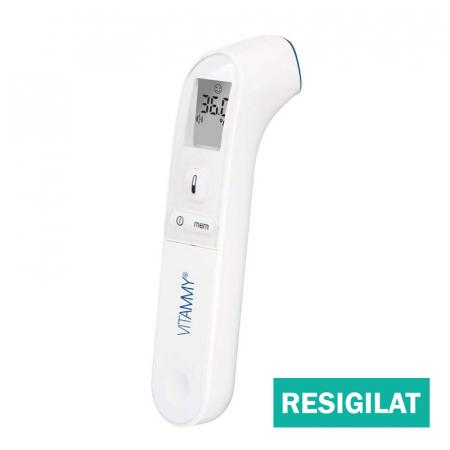 Termometru non-contact Vitammy Spot, resigilat, tehnologie infrarosu, pentru frunte [0]