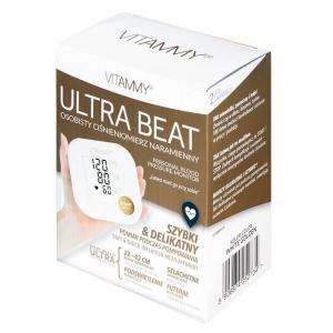 Tensiometru electronic de brat VITAMMY Ultra Beat, manseta 22-42 cm, Alb/Auriu3