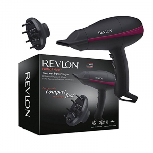 Uscator de par REVLON Perfect Heat Tempest Power Dryer RVDR5821,  2 viteze, 3 trepte de temperatura1