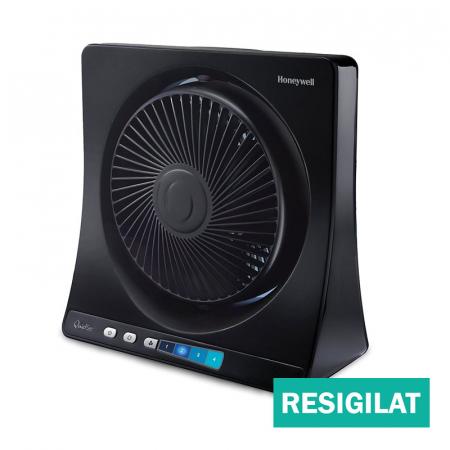 Ventilator de birou Honeywell HT354E resigilat, 4 viteze, 33 cm, zgomot redus, Negru [0]