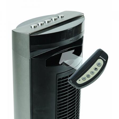 Ventilator turn Honeywell HO-5500RE, resigilat, panou de control cu telecomanda in carcasa [2]