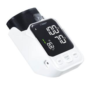 Tensiometru electronic de brat VITAMMY Next 7, mufa USB, detectare aritmie, memorare 2 utilizatori, manseta 22-40 cm, Alb/Negru [4]