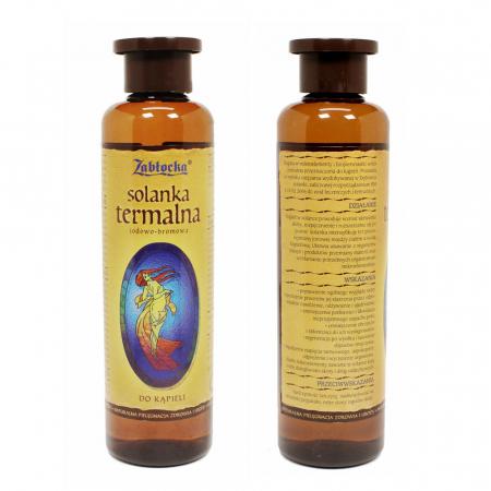 Apa salina termala Zablocka, iodine-bromine 950 ml [3]