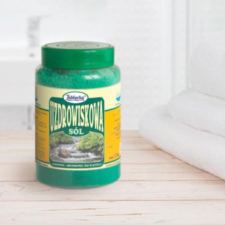 Sare termala SPA iodine-bromine Zablocka pentru baie, 1,2 kg [3]