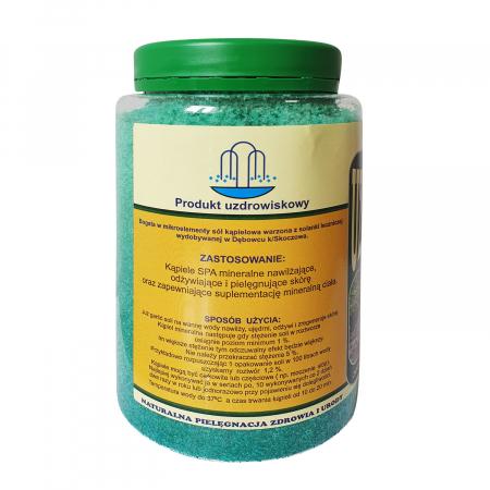 Sare termala SPA iodine-bromine Zablocka pentru baie, 1,2 kg [1]