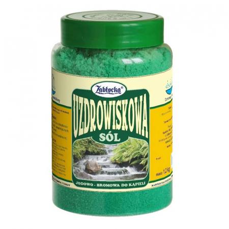 Sare termala SPA iodine-bromine Zablocka pentru baie, 1,2 kg [0]