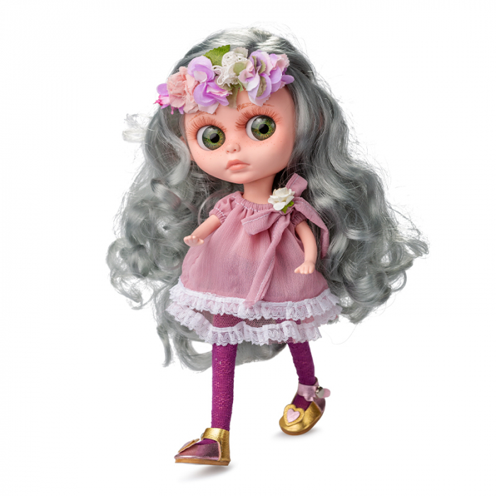 Papusa Margaret Frost, colectia The Biggers, Berjuan, handmade luxury dolls 0