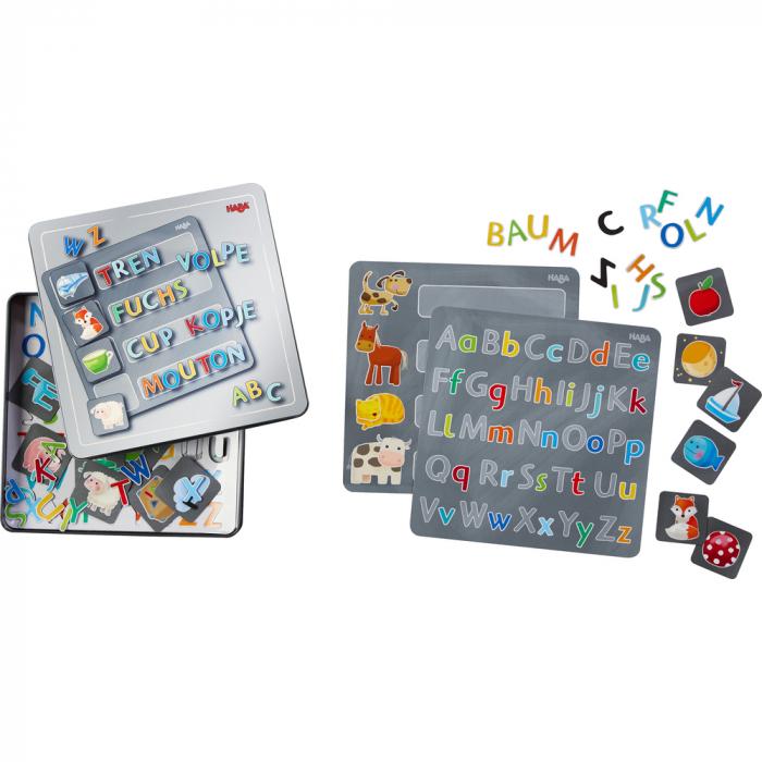 Joc magnetic alfabet, Haba [0]