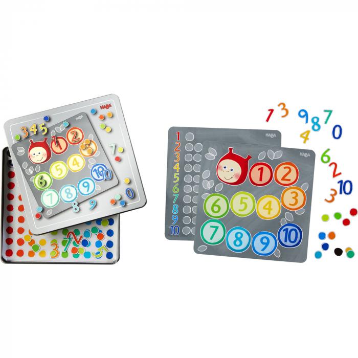 Joc magnetic numere, Haba [0]