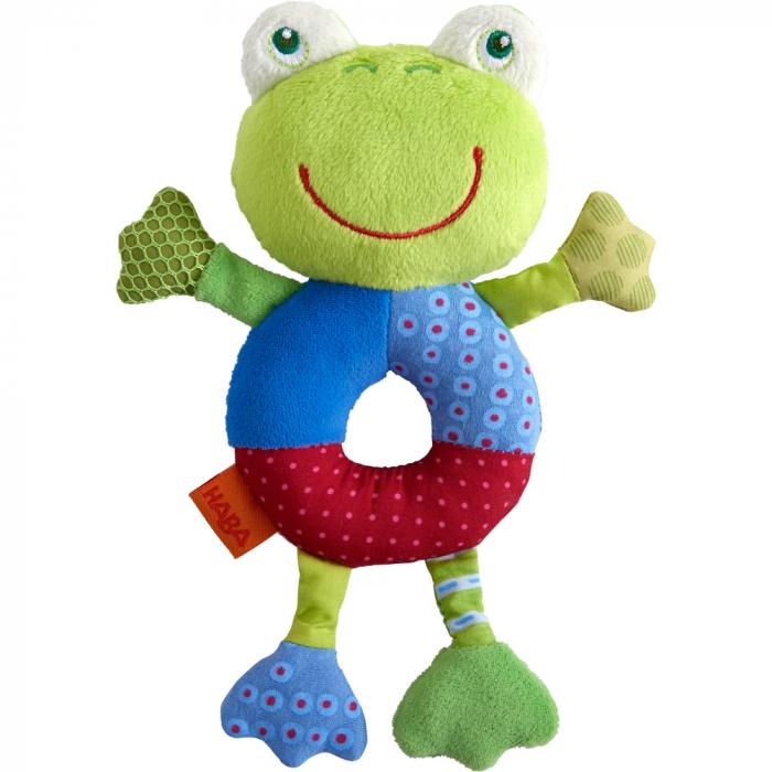 Figurina de joaca bebe broscuta Freddy, Haba 0