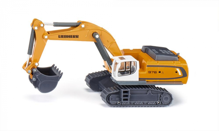 Jucarie macheta excavator Liebherr 974 Litronic, Siku [0]