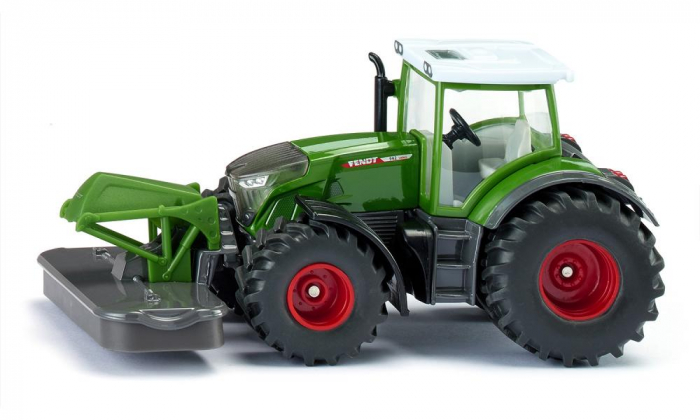 Jucarie macheta tractor Fendt 2020 942 Vario cu cositoare frontala, Siku [1]