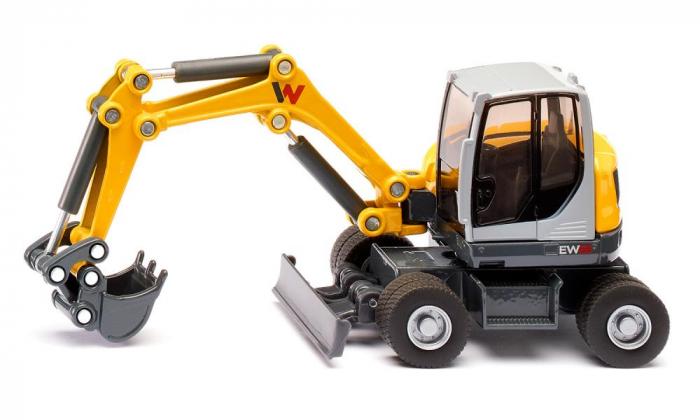 Jucarie macheta excavator mobil Wacker Neuson EW65, Siku [1]