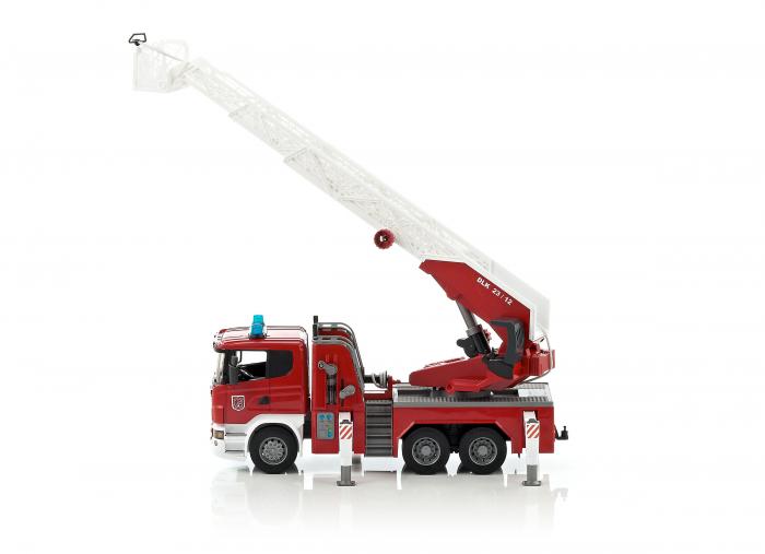 Masina de pompieri Scania cu pompa de apa, Bruder [2]
