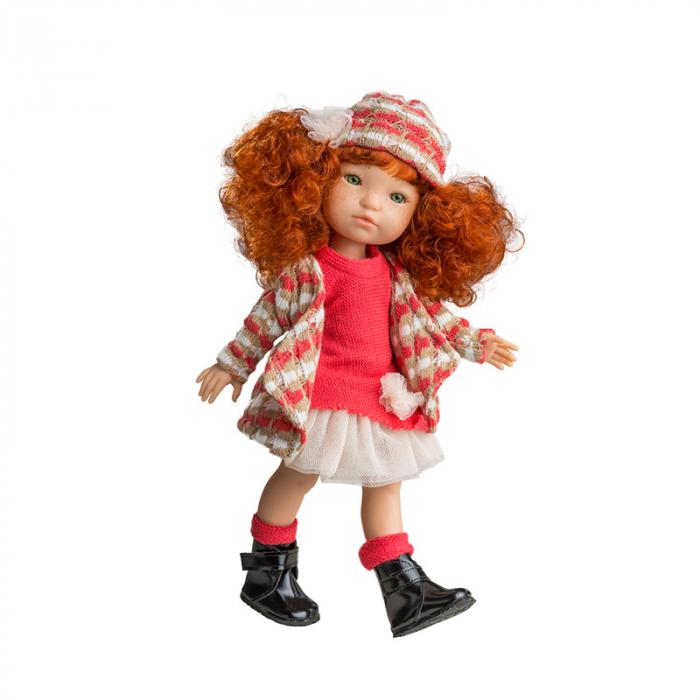 Papusa Pelirroja roscata, colectia MyGirl, Berjuan handmade luxury dolls 0