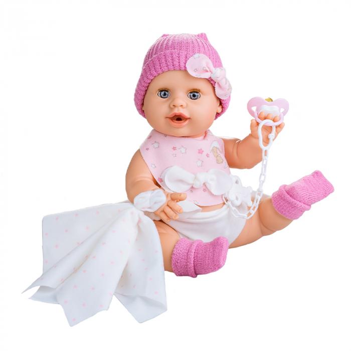 Bebelus fetita Rosa handmade, colectia Susu, Berjuan luxury dolls 0
