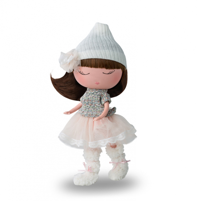 Papusa Anekke, colectia Invierno, Berjuan handmade luxury dolls 0