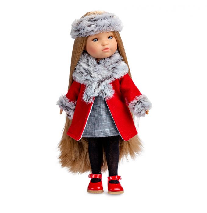 PapusaMorena Trenzas, colectia Boutique, Berjuan handmade luxury dolls 0