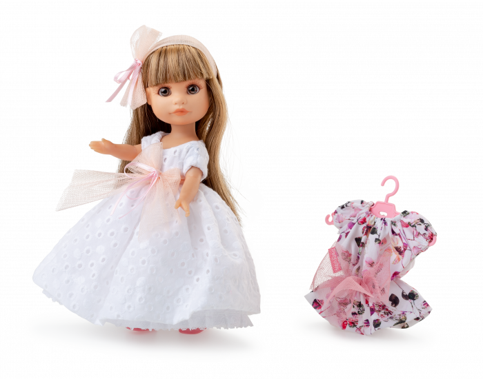 Papusa Luci, blonda, set colectia Boutique. Berjuan handmade luxury dolls 3