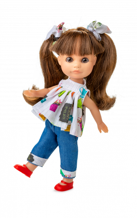 Papusa Luci, bruneta, colectia Boutique, Berjuan handmade luxury dolls 0