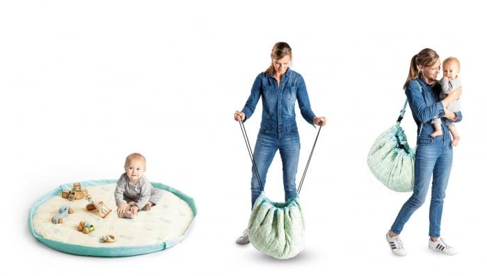 Saltea bebe 3 in 1 bumbac premium Play&Go [1]
