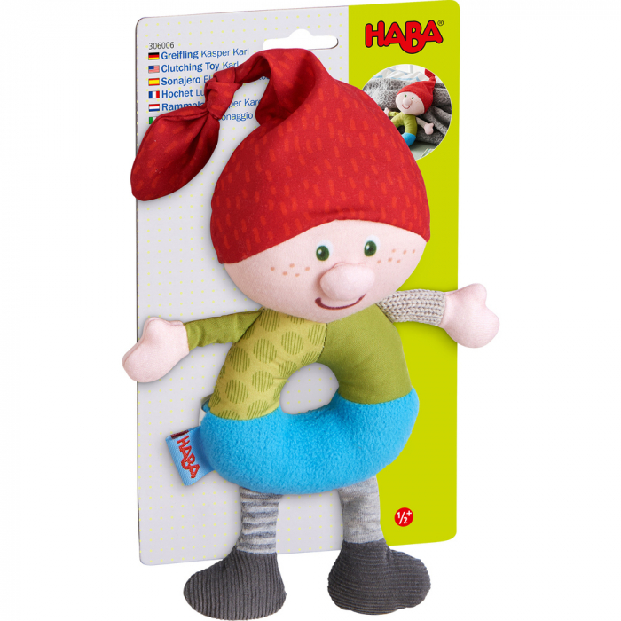 Figurina de joaca bebe spiridus Karl Kasper, Haba 1