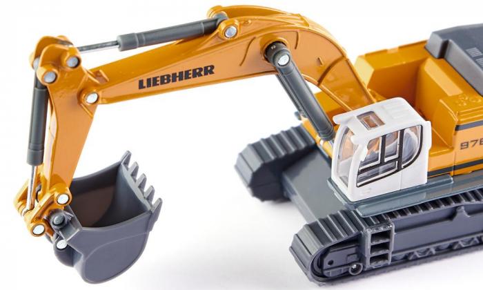 Jucarie macheta excavator Liebherr 974 Litronic, Siku [1]