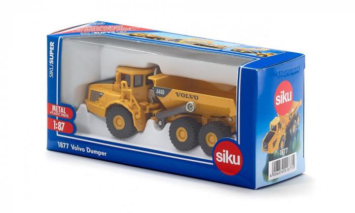 Jucarie macheta camion basculanta Volvo A40D, Siku [1]