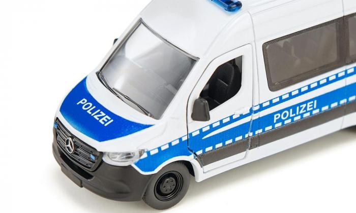 Jucarie macheta masina de politie Mercedes-Benz Sprinter, Siku [1]