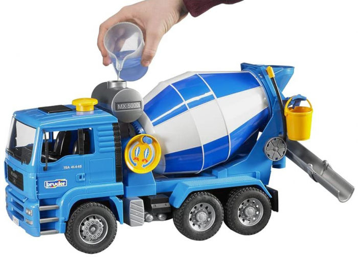 Camion betoniera de jucarie Man TGA Bruder [1]
