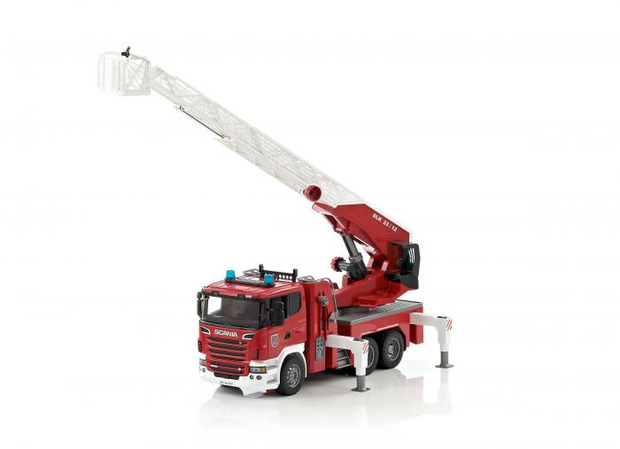 Masina de pompieri Scania cu pompa de apa, Bruder [1]