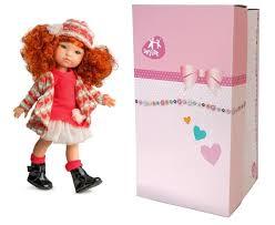 Papusa Pelirroja roscata, colectia MyGirl, Berjuan handmade luxury dolls 1