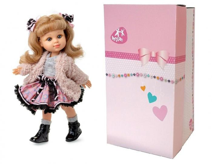 Papusa Rubia Abrigo, colectia My Girl, Berjuan handmade luxury dolls 1