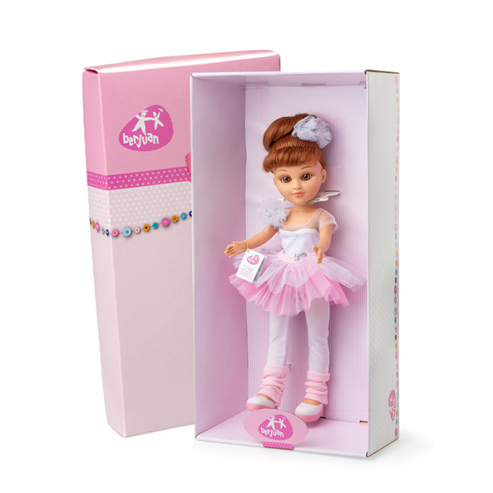 Papusa balerina Eli, colectia Boutique, Berjuan handmade luxury dolls 1