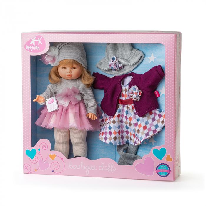 Papusa Diana, colectia Trousseau Collete, Berjuan handmade luxury dolls 4