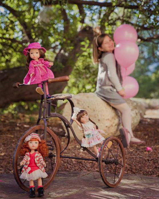 Papusa Trenzas, colectia My Girl, Berjuan handmade luxury dolls 1