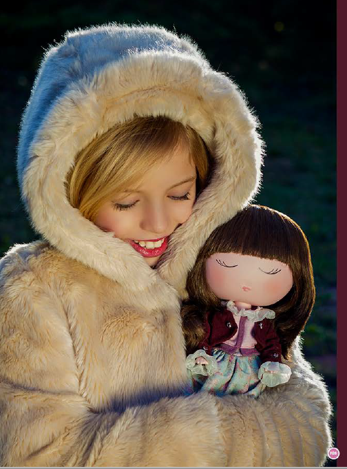 Papusa Anekke, colectia Nature, Berjuan handmade luxury dolls 5