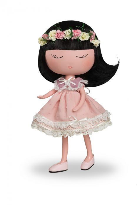 Papusa Anekke, colectia Nature, Berjuan handmade luxury dolls 0