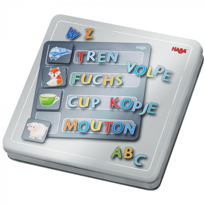 Joc magnetic alfabet, Haba [2]
