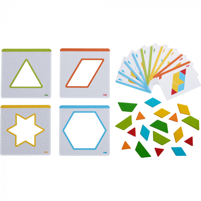 Joc creativitate forme colorate, Haba 1