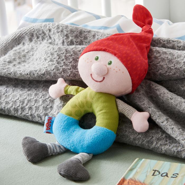 Figurina de joaca bebe spiridus Karl Kasper, Haba [2]