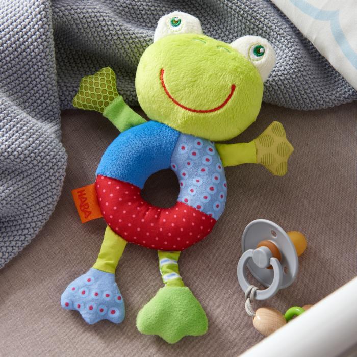 Figurina de joaca bebe broscuta Freddy, Haba 2