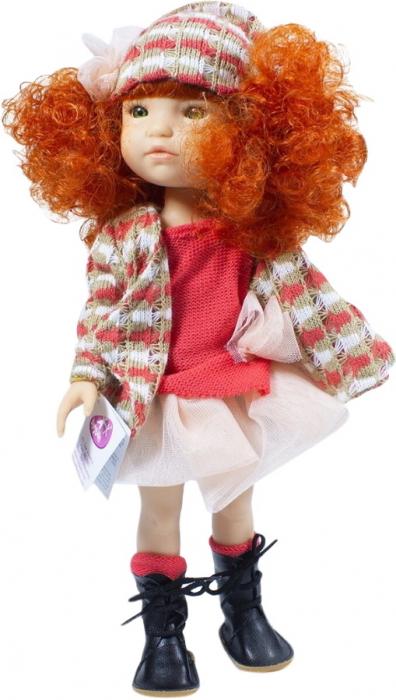 Papusa Pelirroja roscata, colectia MyGirl, Berjuan handmade luxury dolls 2