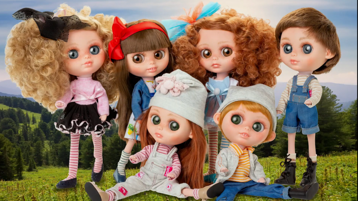 Papusa Abba, colectia The Biggers, Berjuan, handmade luxury dolls 4