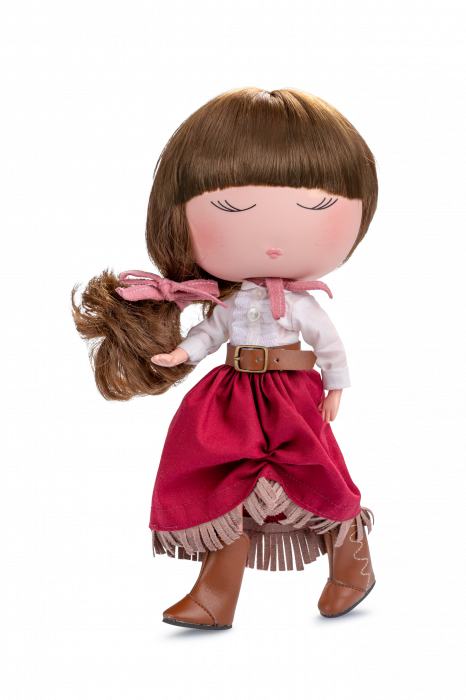 Papusa Anekke, colectia Country, Berjuan handmade luxury dolls 0