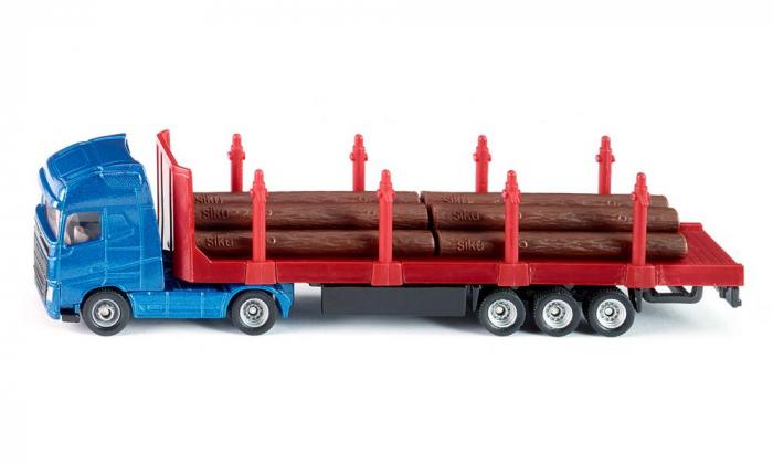 Jucarie macheta camion transporter busteni, Siku [1]